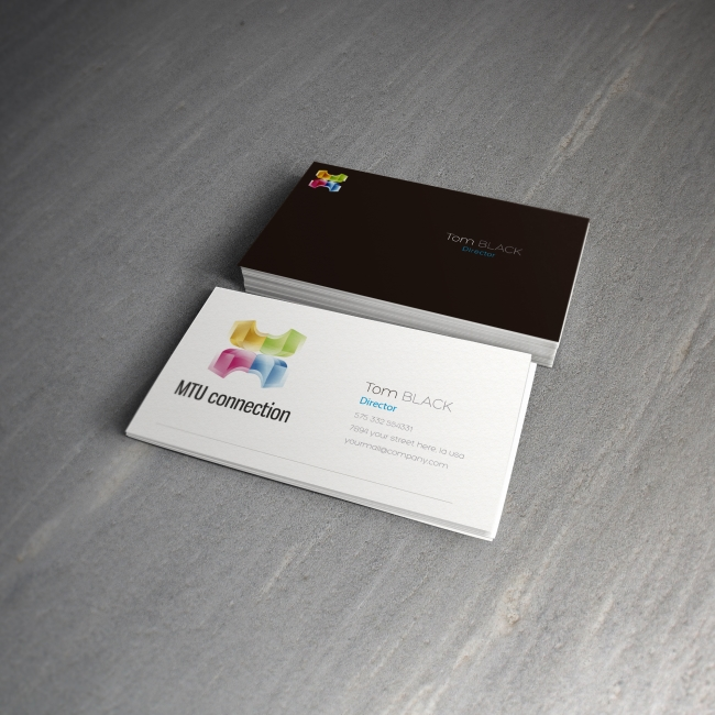 Business card MTU