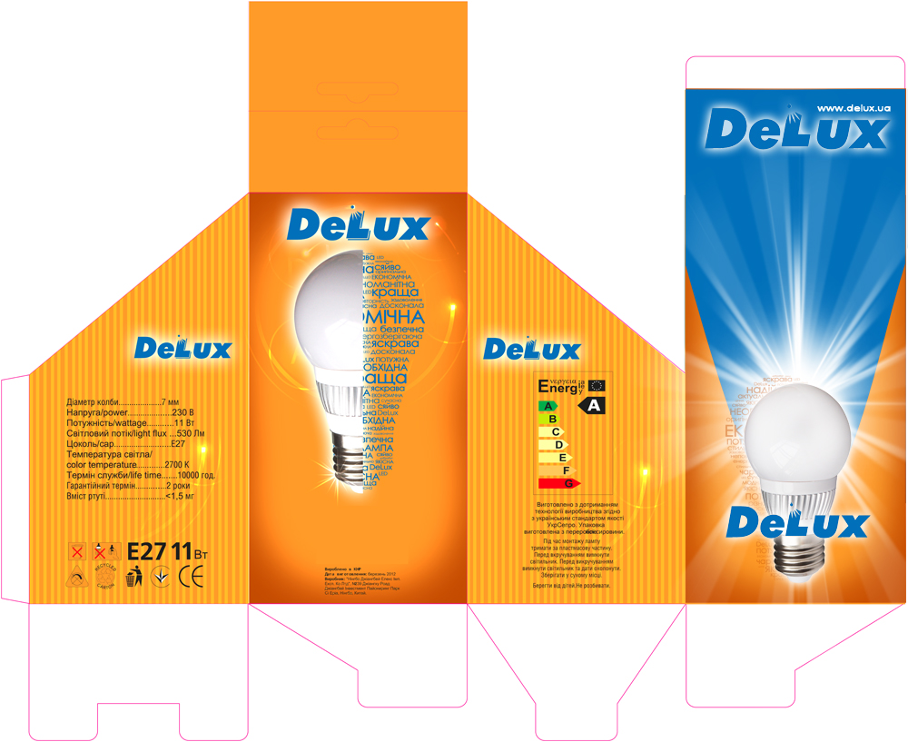 DELUX NEW LED