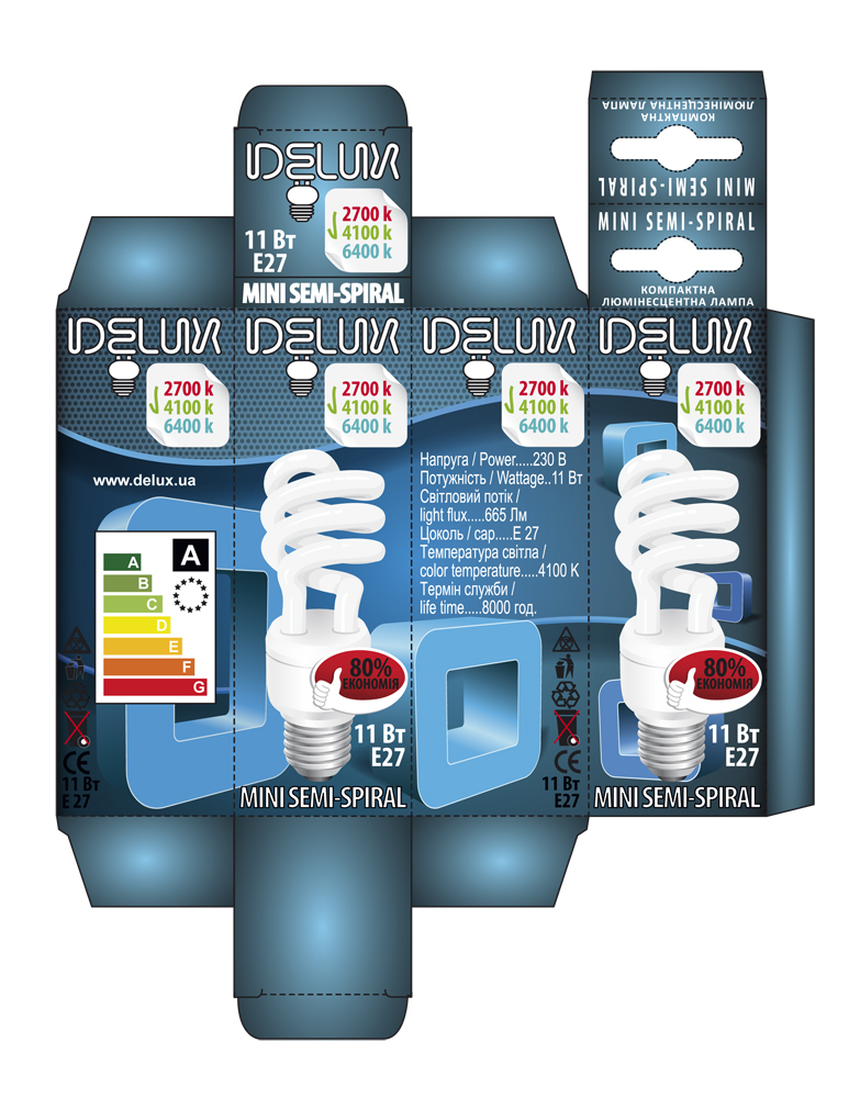 DELUX ENERGY SAVING LAMP